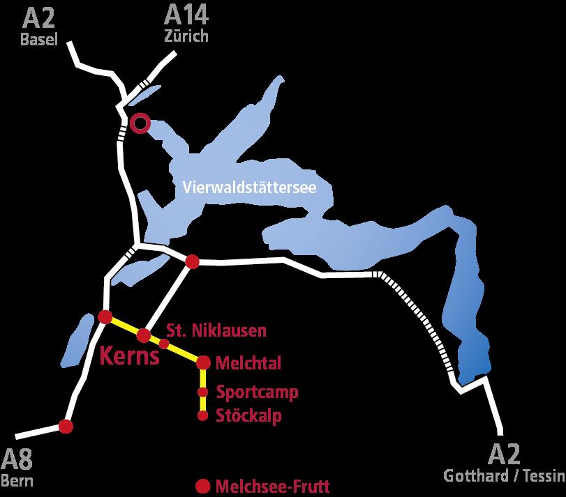 Anreiseplan